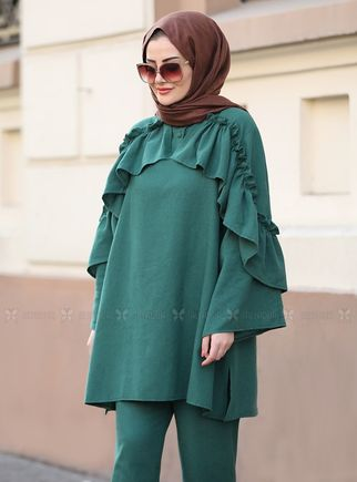 Yeşil Rüya Takım - ST14567 - Thumbnail