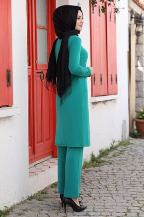 Yeşil Seren İkili Takım - AHU15934 - Thumbnail