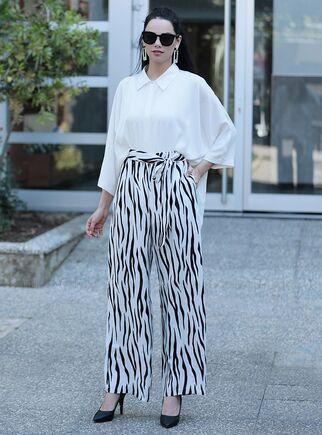 Moda Rafta - Zebra İkili Takım - MOR15368
