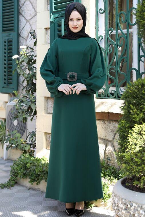 Emsale - Zümrüt Aycan Elbise - ES15883