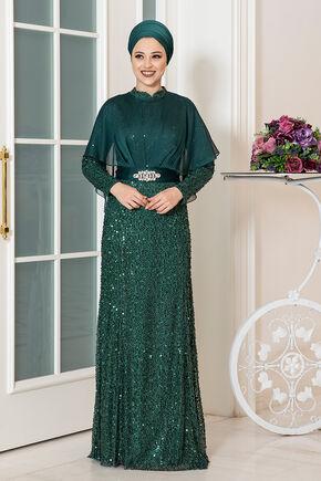 Dress Life - Zümrüt Deren Abiye - DL16319