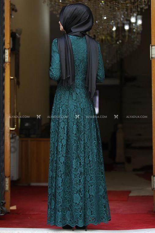 Ahunisa - Zümrüt Henna Abiye - AHU13996 (1)