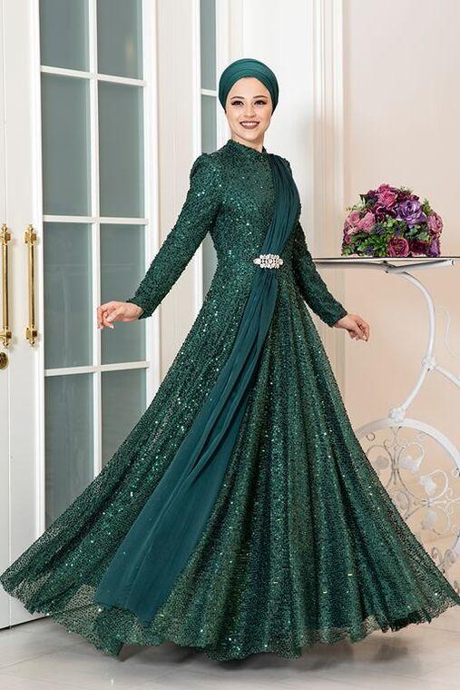 Dress Life - Zümrüt Miray Abiye - DL16325