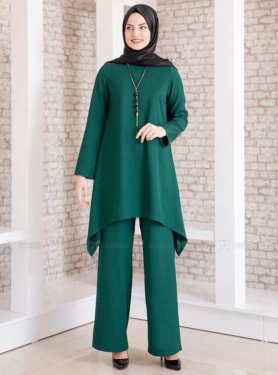 Fashion Showcase - Zümrüt Yıldız İkili Takım - FS15187