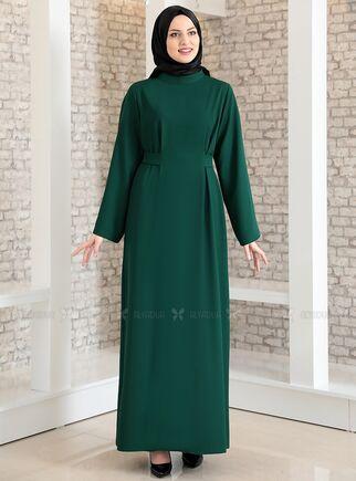 Fashion Showcase - Zümrüt Yonca Abaya Elbise - FS15207